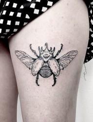 小清新动物纹身图案