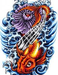 一组纹身手稿欣赏