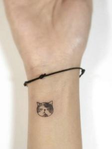 个性女生纹身图片