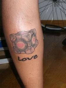 情侣可爱纹身