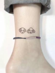 小清新又可爱的小图案纹身
