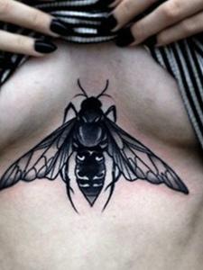 性感部位纹身图片