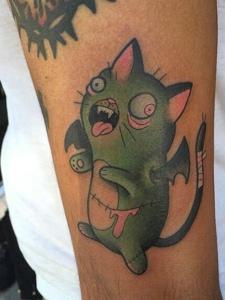 一组古灵精怪的小可爱图腾刺青