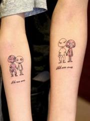 见证爱情的情侣纹身