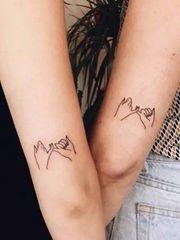 专属于闺蜜的纹身