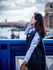 王丽坤伦敦写真三度曝光 倩影娉婷显优雅
