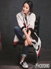 佟丽娅时尚杂志大片 一颦一笑尽显气质