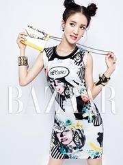 金晨杂志写真曝光 清甜女神示范夏日时尚
