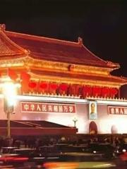 夜幕下的京城