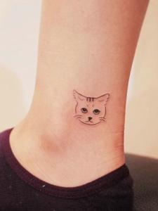 一组适合95后的女孩小清新纹身图案