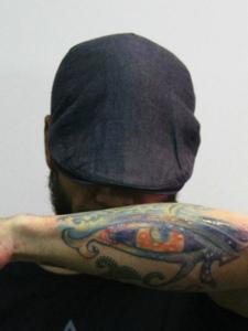 男士手臂个性纹身图案霸气侧漏