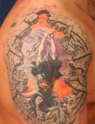 俄罗斯纹身大师 Pavel Angel作品欣赏
