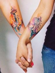 爱  不将就  情侣纹身