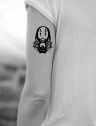 宫崎骏动漫作品纹身