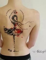 纹身师Aleksey Platunov充满童真的纹身作品