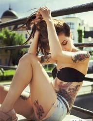 纹身  让你成为最靓丽的风景