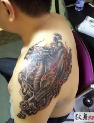 经典系列  麒麟纹身