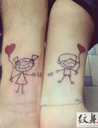 用纹身来表达爱意  情侣纹身