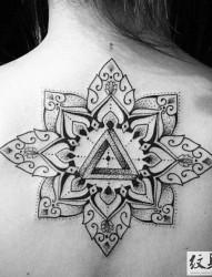 传统的梵花纹身图案大全
