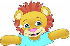 小狮子图片素材