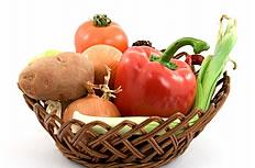 土豆洋葱辣椒等蔬菜图片