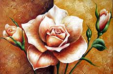 月季花装饰画图片素材
