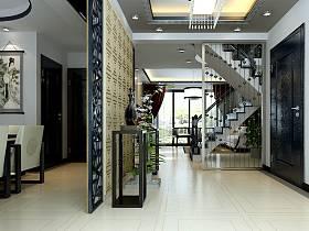 玄关楼梯玄关柜图片