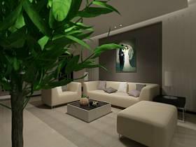 现代客厅设计案例