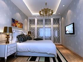 欧式简约卧室设计图