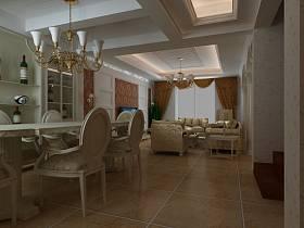 新古典古典新古典风格古典风格餐厅设计图