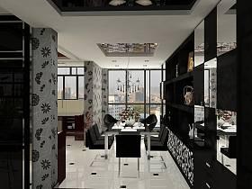 现代餐厅装修图