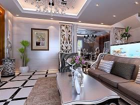 简欧简欧风格客厅设计案例展示