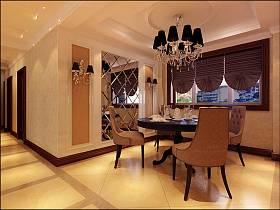 欧式简欧简欧风格餐厅吊顶案例展示
