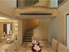 欧式餐厅楼梯图片