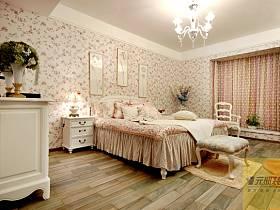 田园美式田园风格卧室案例展示