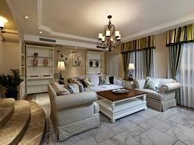 法式客厅设计图