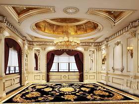 欧式大厅吊顶图片