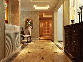 欧式客厅走廊过道设计案例