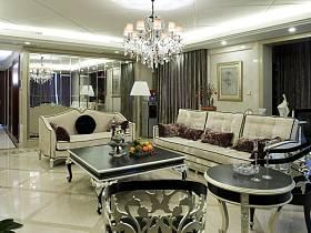 新古典古典新古典风格古典风格客厅装修案例