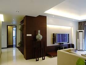 中式现代客厅背景墙电视背景墙设计方案