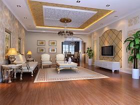 欧式客厅沙发单人沙发设计方案