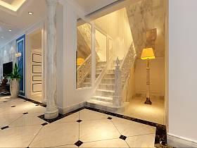 欧式简约楼梯设计案例展示