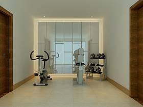 现代现代风格健身房设计方案