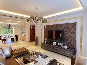 欧式欧式风格客厅背景墙电视背景墙图片