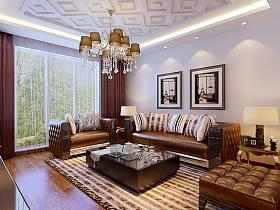 混搭混搭风格客厅设计案例