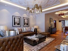 混搭混搭风格客厅设计方案