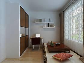现代窗帘榻榻米设计案例展示