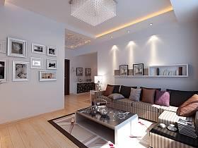 现代简约现代简约简约风格现代简约风格客厅背景墙沙发客厅沙发案例展示