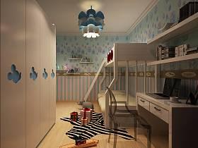 现代儿童房吊顶案例展示