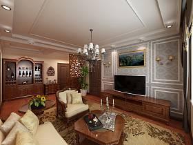 简欧简欧风格背景墙电视背景墙设计案例